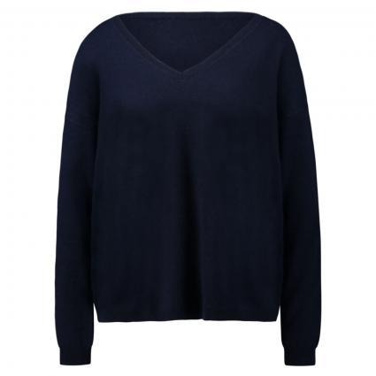 Pullover mit V-Ausschnitt marine (0290 marine) | M