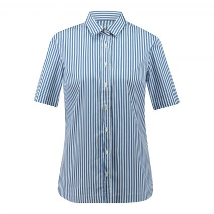 Bluse 'Elli' mit Streifen blau (750 blau stripe) | 40