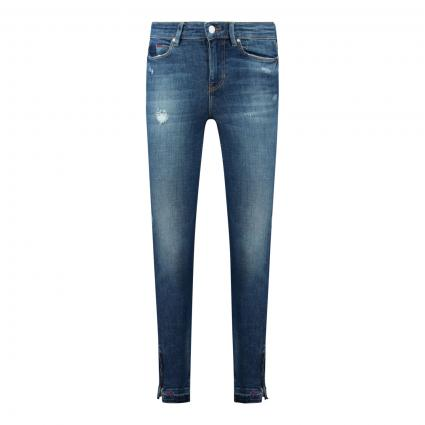 Jeans Slim-Fit mit Reißverschluss an den Knöcheln blau (GLRS GLORIOUS) | 26