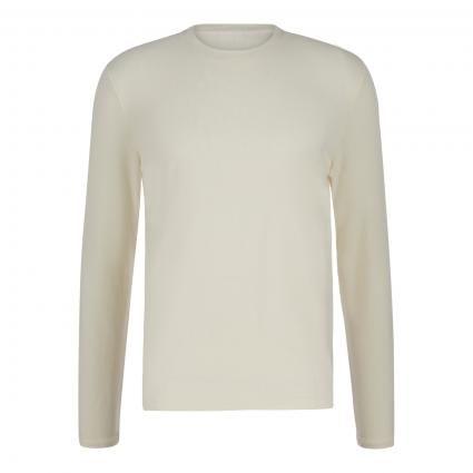 Langarmshirt 'CLIVE' ecru (003 egg white)   M