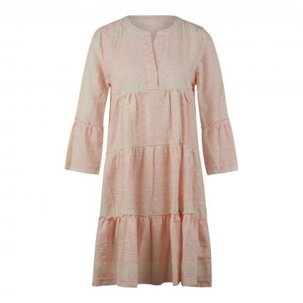 Kleid mit All-Over Ethnomuster rose (5050 FADED ROSE) | XL