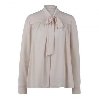 Bluse mit versteckter Knopfleiste ecru (142 panna)   36