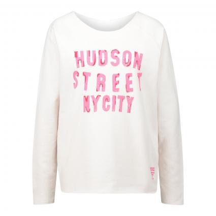 Sweatshirt 'Hudson' mit frontalem Print rose (3005 rose)   XXL