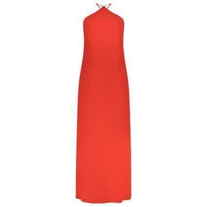 Rückenfreies Kleid mit Spagettiträger rot (10165) | L