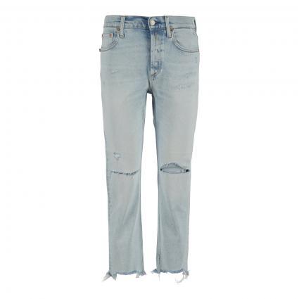 Highwaist Jeans 'Maijke' blau (010 LIGHT BLUE) | 28