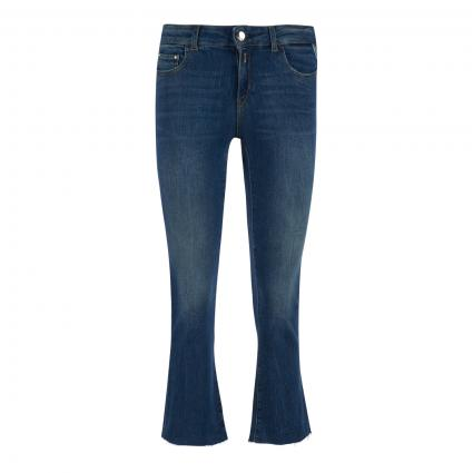 Cropped Jeans 'Faaby' blau (009 MID BLUE) | 32