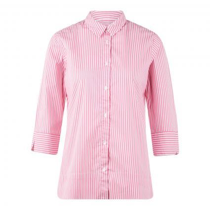 Gestreifte Bluse mit 3/4 Arm pink (005/5055 pink) | 46