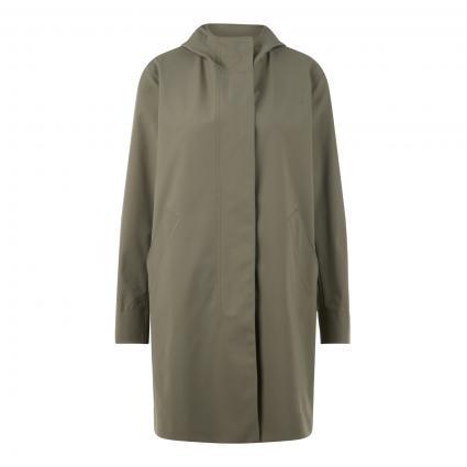 Mantel mit Kapuze grün (670 rosemary)   38
