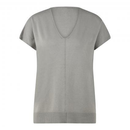 Pullover mit V-Ausschnitt grün (682 schilf)   XL