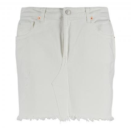 Minirock im Five-Pocket Style weiss (100 WHITE) | 27