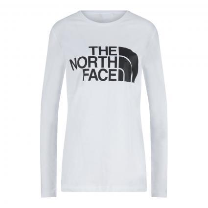 T-Shirt mit Logo-Print weiss (FN4 1TNF WHITE) | XS