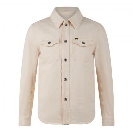 Regular-Fit Jacke mit Brusttaschen ecru (D1E ecru) | S