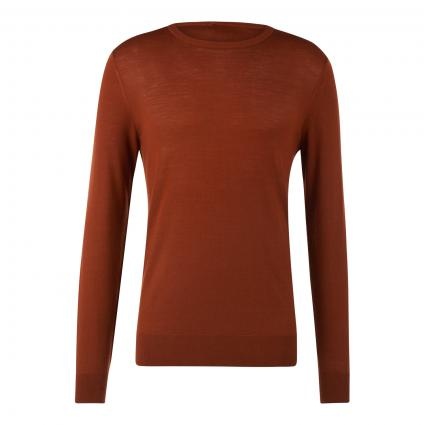 Pullover 'Nichols' rot (5A5 rust)   S