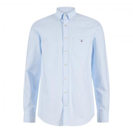 Regular-Fit Hemd 'The Oxford Banker' blau (468 Blue) | XXL