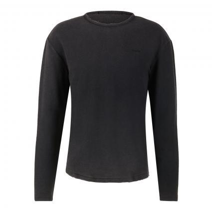 Sweatshirt 'Nathan' schwarz (901 vintage black) | L