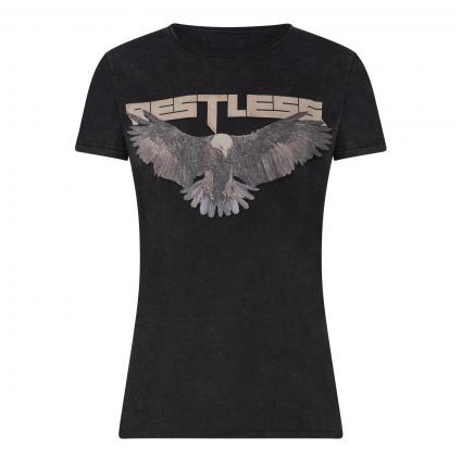 T-Shirt 'Restless Wren' anthrazit (901 vintage black) | XL