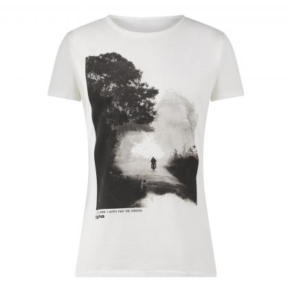 T-Shirt 'Easy Rider' weiss (001 white)   S