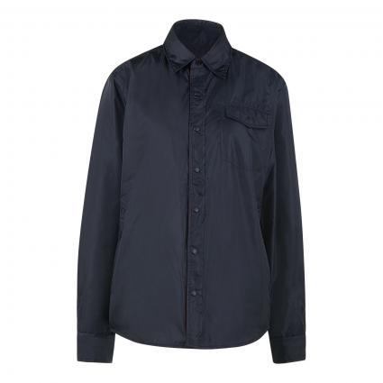 Wattierte Jacke im Overshirt-Stil marine (96903 navy/rot) | M