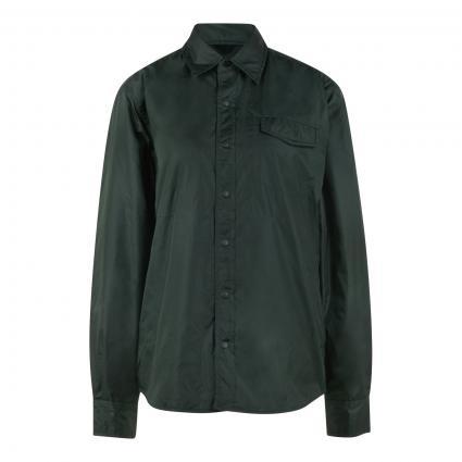Wattierte Jacke im Overshirt-Stil grün (96917 verde/blue) | L