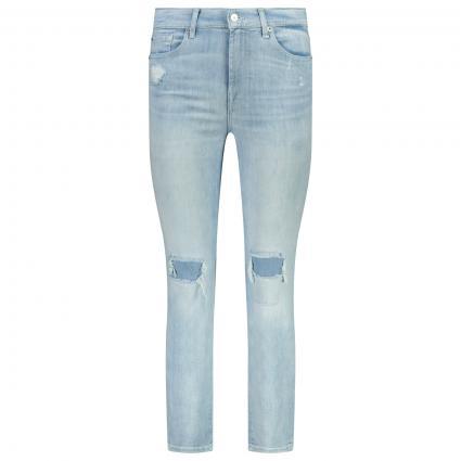 Jeans mit Distressed-Effekt blau (LIGHT BLUE) | 27