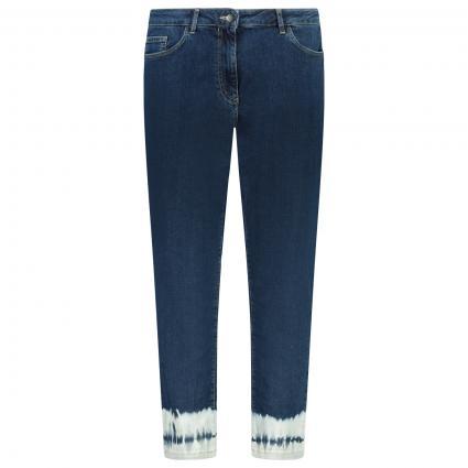 Jeans Hose mit Waschung  marine (058 BLU MEDIO) | 44