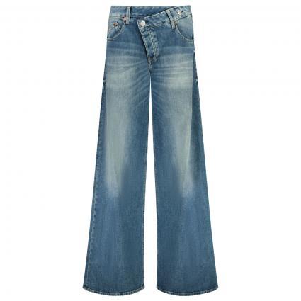 Wide Leg Jeans blau (833 mariana blue) | 28 | 32