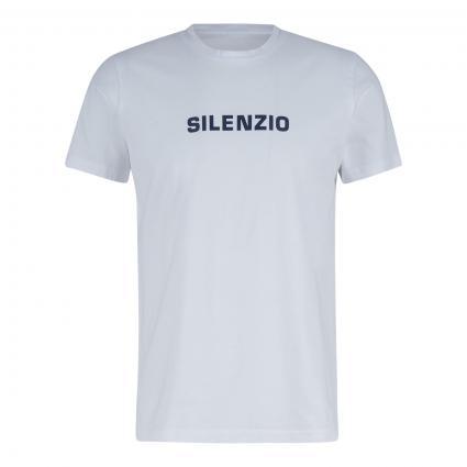 T-Shirt mit Wording-Print weiss (01072 Weiß)   L