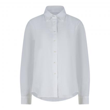 Bluse aus Leinen weiss (85072 bianco)   42