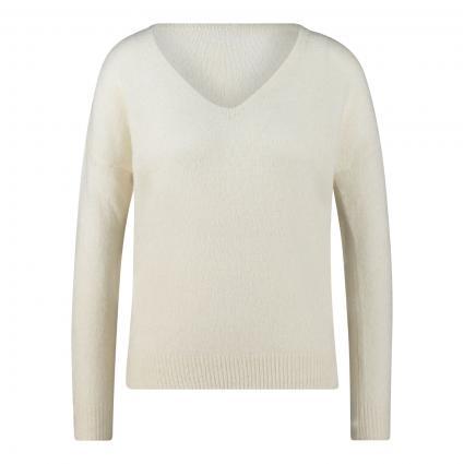 Pullover 'Femme' mit Mohair-Anteil ecru (VANILLA ICE) | M/L
