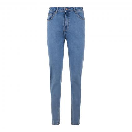 Mom-Fit Jeans 'Crystal' blau (LT DENIM BLUE) | XS