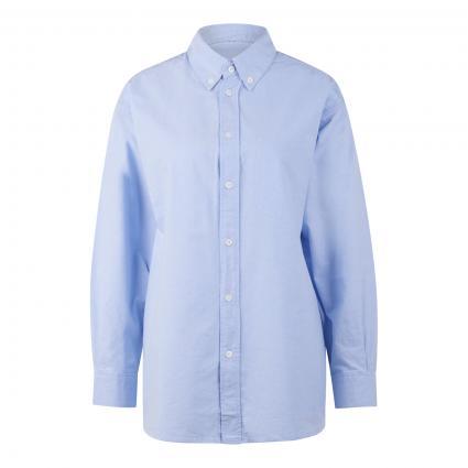 Hemdbluse mit Brusttasche blau (BLEU CIEL) | S