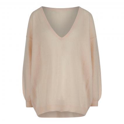 Pullover mit V-Ausschnitt  beige (BISCUIT) | M/L