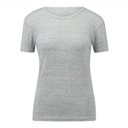 T-Shirt mit Rundhalsschnitt  grau (CRIS CHINE) | S