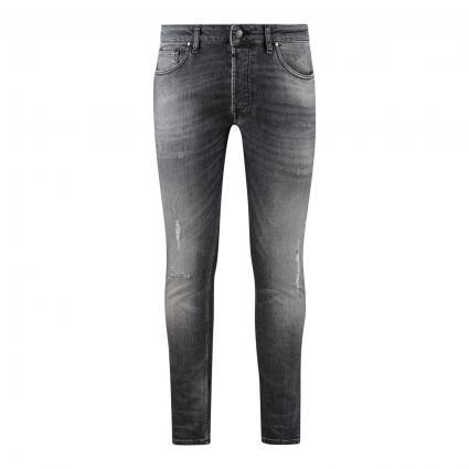 Slim-Fit Jeans 'Morten' grau (733 midgrey)   30   32
