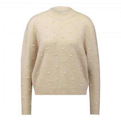Pullover 'Jenna' mit Stehkragen  beige (W PEPPER/BELLIN) | XS