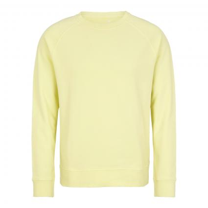 Sweatshirt mit breiten Bündchen gelb (307 yellow) | L