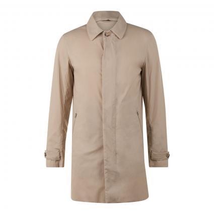 Kurzmantel 'Ripstop Carcoat' beige (723 oak) | S