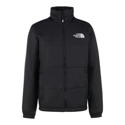 Wattierte Jacke mit Stehkragen schwarz (JK31 TNF BLACK) | L