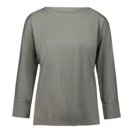 T-Shirt mit 3/4 Arm oliv (1288 khaki) | 36