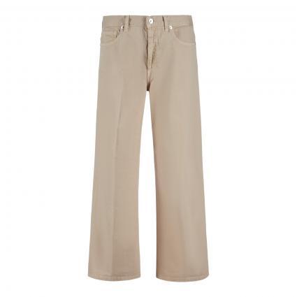 Jeans Culotte 'Voice' beige (VE 62 corda) | 28