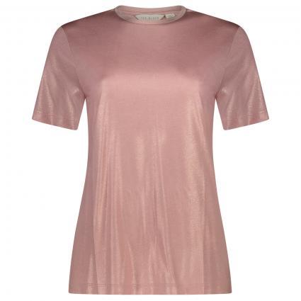 T-Shirt 'Molaria' mit Schimmer-Effekt pink (LT-PINK) | 38