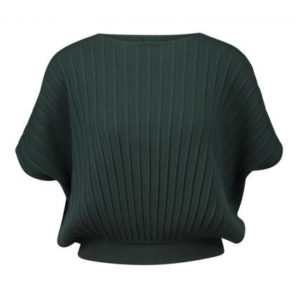 Kurzarmpullover 'Fiabe' grün (001 tanne)   M