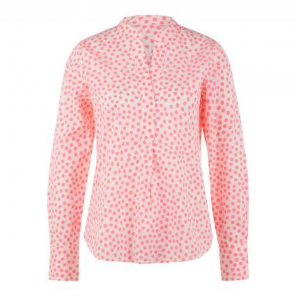 Bluse mit Neon-Punkten pink (142 neon pink dots) | 38