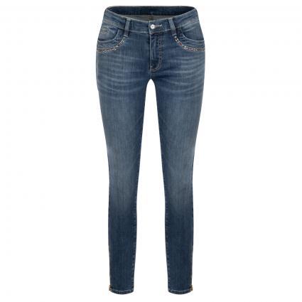 Jeans 'Nomi' mit Nieten-Details blau (850 blue blue)   32