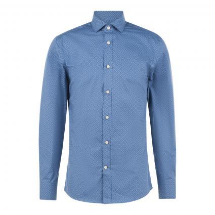 Slim-Fit Hemd 'Maxime' blau (284 light ink )   38