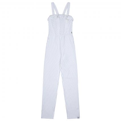 Jumpsuit mit All-Over Streifenmuster  ecru (118 Striped) | 140