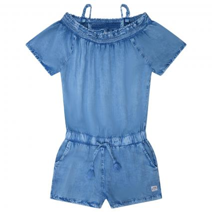 Overall mit elastischem Bund  blau (151 Medium Denim) | 140