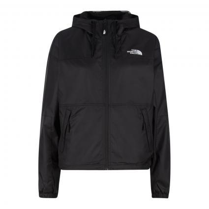 Jacke mit Logo-Druck  schwarz (JK31 TNF BLACK) | XS