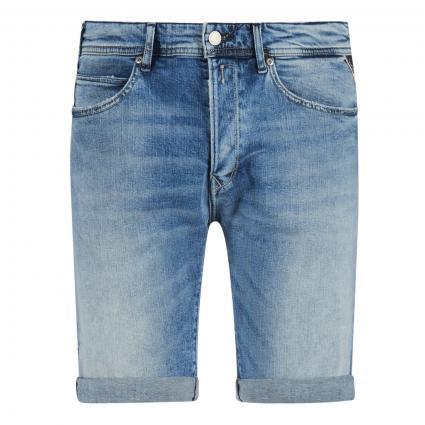 Jeansshorts in Used-Optik blau (010)   33