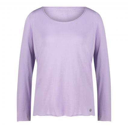 Pullover mit Rundhalsausschnitt flieder (511 lavender) | XL